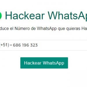 Cómo piratear WhatsApp por número de teléfono